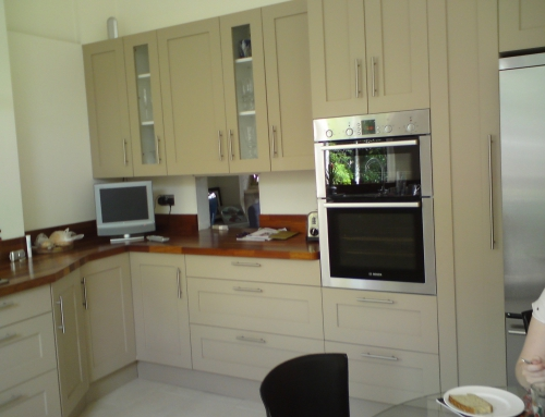 Panelled & Painted Kitchen